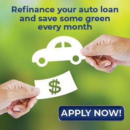 Refinance your auto loan and save some green every month. Apply now.